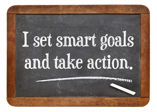 What are SMART actions and how are they used in our courses?
