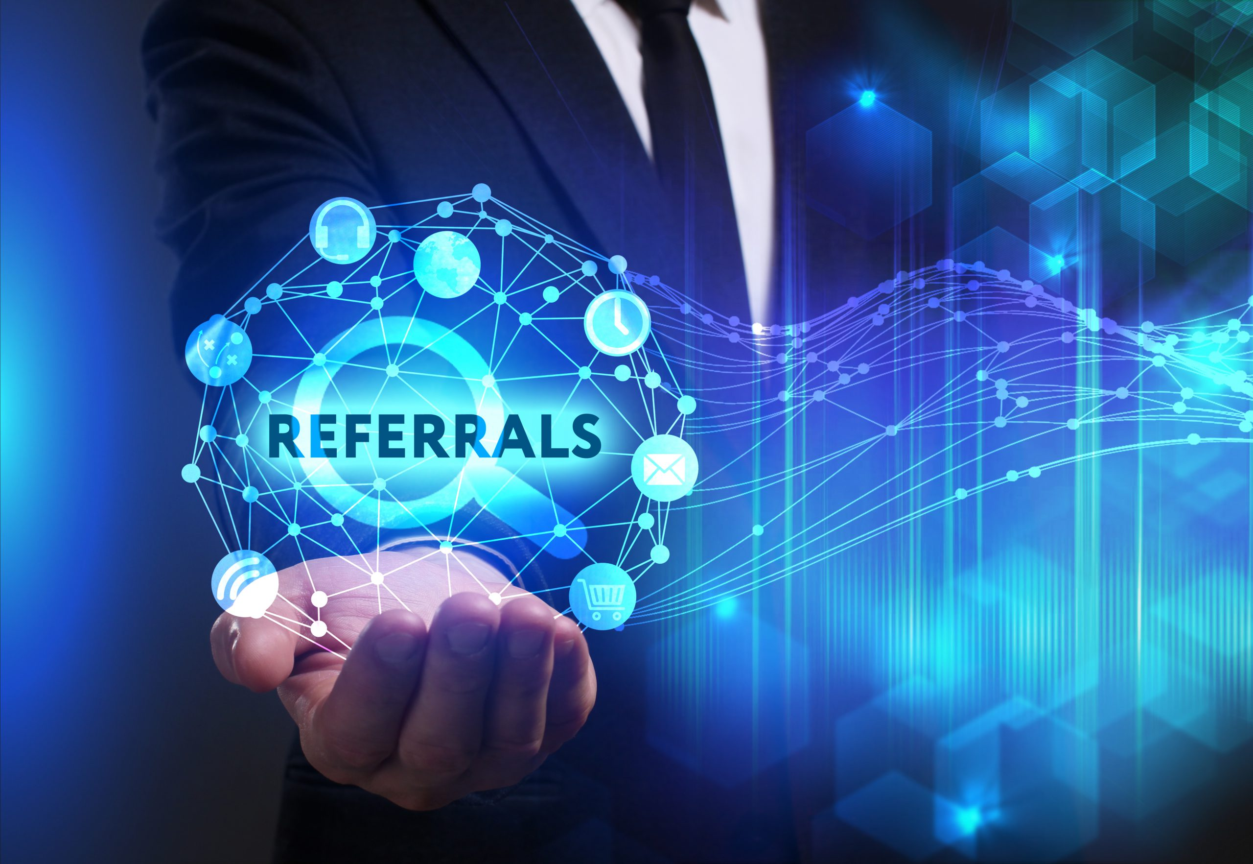 Referral Partner Network – Develop strong cross-referral relationships